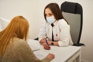Razgovor doktora i pacijentkinje