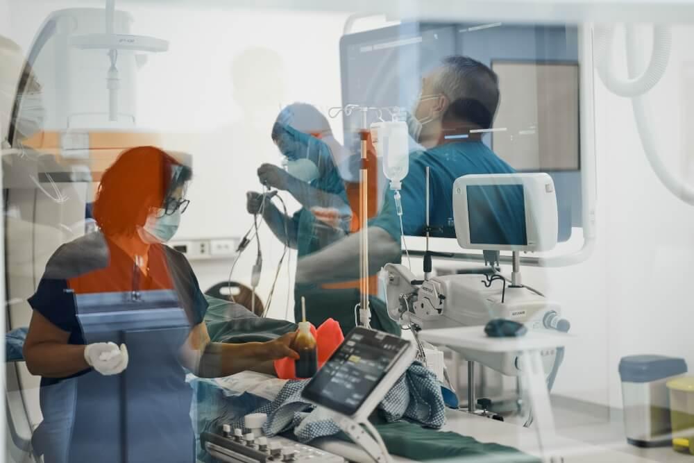 Pacijent u operacionalnoj sali