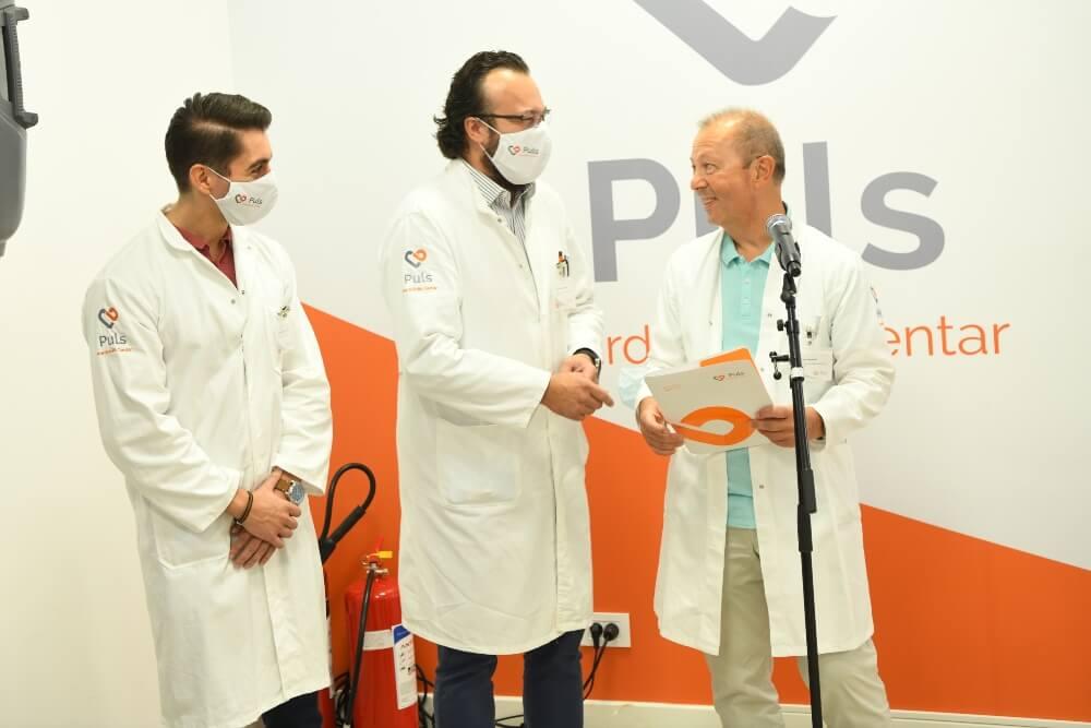 Doktorina otvaranju Kardiološkog centra Puls